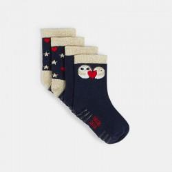 Κάλτσες με σχέδιο πουλιού...