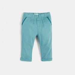 Παντελόνι μονόχρωμο από...