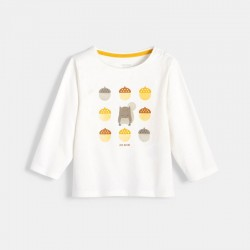 Μπλούζα με μοτίβα από τη φύση