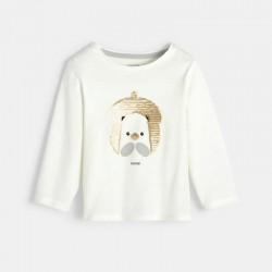 Μπλούζα με μοτίφ γάτα με...