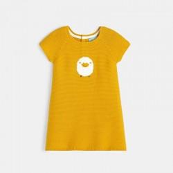 Φόρεμα πουλόβερ με μοτίφ...