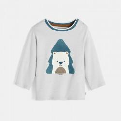 Μπλούζα με μοτίφ ζώου