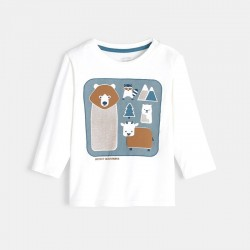 Μπλούζα με μοτίφ ζωάκια