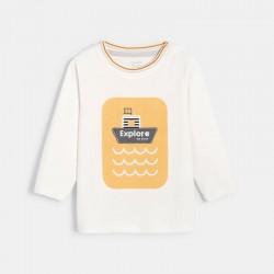 Μπλούζα με μοτίφ πλοίο