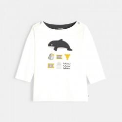 Μπλούζα με θαλάσσια μοτίφ