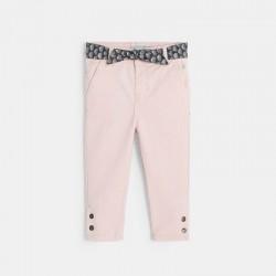 Παντελόνι από βελούδο και ζώνη