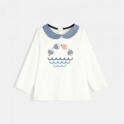 T-shirt a motif poissons