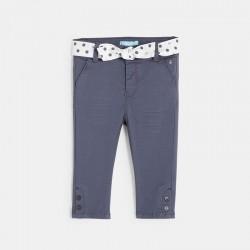 Παντελόνι από καμβά φαντεζί
