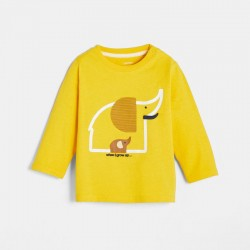 T-shirt a motif
