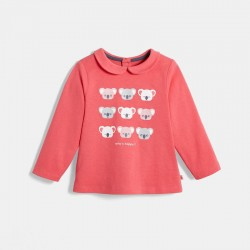 T-shirt a motifs pailletes