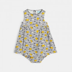 Robe imprimee et bloomer