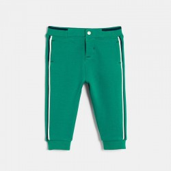 Pantalon jogging a bandes