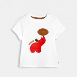 T-shirt a motif animalier