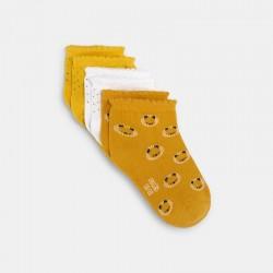 Socquettes assorties (par 3)