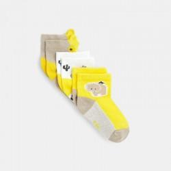 Socquettes fantaisie jaune...