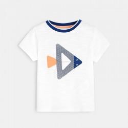 Μπλούζα με γεωμετρικό μοτίφ