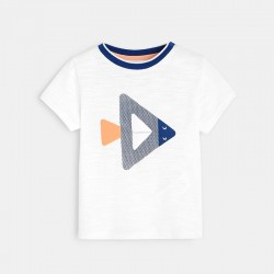 T-shirt Γ motif gΓomΓtrique