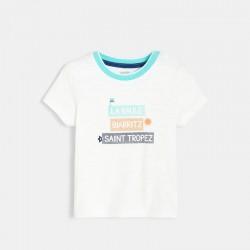 T-shirt Γ panneaux franΓais