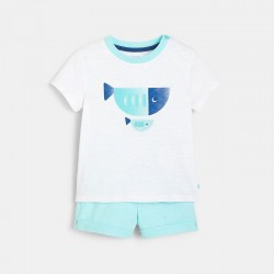 T-shirt et short rayΓ