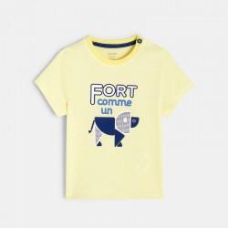T-shirt rayΓ Γ motif