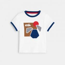 T-shirt Γ motif chien