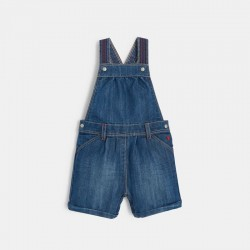 Salopette courte en jean