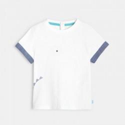 T-shirt coton bio Γ motif...
