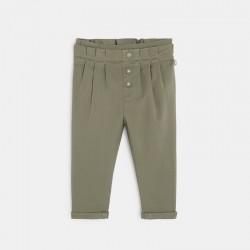 Pantalon paperbag uni