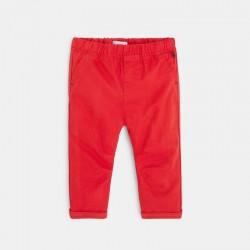 Pantalon toile uni