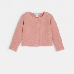Cardigan tricot uni