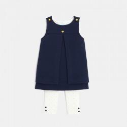 Robe maille Γ pans et leggings