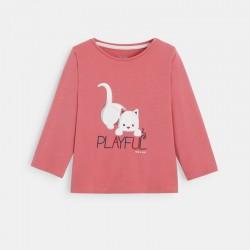 T-shirt couleur Γ motif animal
