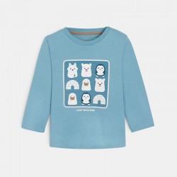 Μπλούζα με μοτίφ ζώα του πάγου