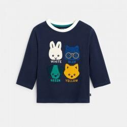 T-shirt coton bio animaux...