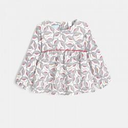 Μπλούζα από φανέλλα με...