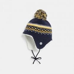 Bonnet p+σruvien tricot...