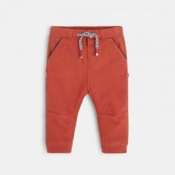 Pantalon toile uni +ι...